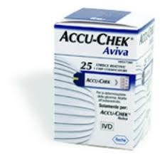 ACCU-CHECK Aviva 25 striscie