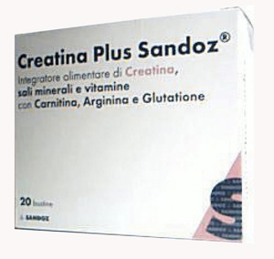 Creatina Plus Sandoz Integratore Alimentare Creatina Carnitina 20 Bustine