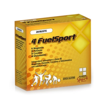 Named Sport Linea Integrazione Sportiva 4 FuelSport Integratore 20 Buste