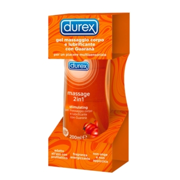 Durex Linea Lubrificanti Stimulating Gel Massage 2 in 1 Gel Intimo 200 ml
