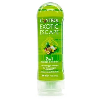 Control Linea Piacere Coppia 2in1 Massage & Pleasure Gel Exotic Escape 200 ml