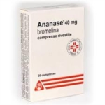 Ananase 40 Mg Compresse Rivestite 20 Compresse Rivestite