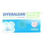 Efferalgan Prima Infanzia 150 Mg Supposte 10 Supposte