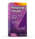 Fexallegra Nasale 1 Mg Ml 3 55 Mg Ml Spray Nasale Soluzione 1 Flacone Da 10 Ml