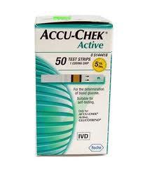 ACCU-CHECK Active Plasma 50 striscie