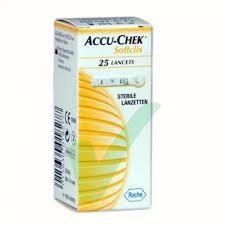 ACCU-CHECK Softclix 25 lancette