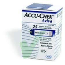 ACCU-CHECK Aviva 25 striscie