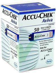 ACCU-CHECK Aviva 50 striscie