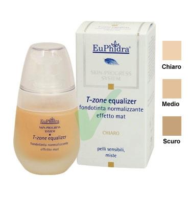 EuPhidra Linea Make-Up T-Zone Equalizer Fondotinta Normalizzante Colore Chiaro