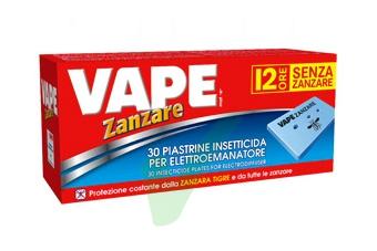 Vape Linea Insetti Volanti Insetto-Repellente 30 Piastrine per Elettroemanatore