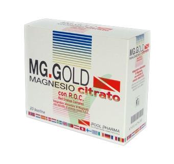 MGK VIS Linea Integratori Idrosalini MG Gold Magnesio Citrato 20 Bustine