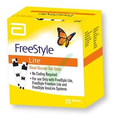 Abbott Diabetes Care Linea Controllo Glicemia Freestyle Lite 25 Strisce Reattive