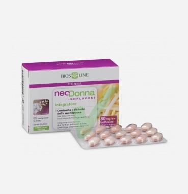 Bios Line Linea Menopausa Neodonna Isoflavoni Integratore Alimentare 60Compresse
