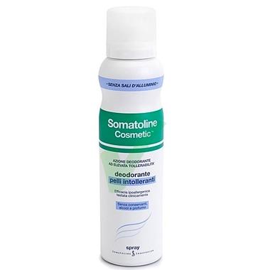 Somatoline Cosmetic Linea Deodorante Pelli Intolleranti Spray Delicato 150 ml