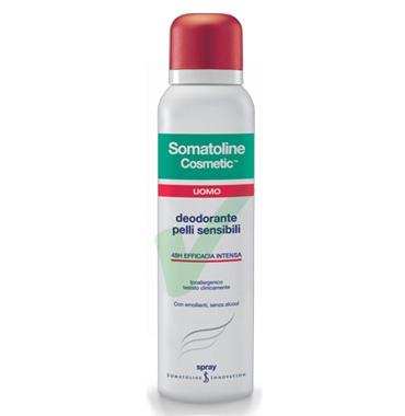 Somatoline Cosmetic Linea Uomo Deodorante Pelli Sensibili Spray 150 ml