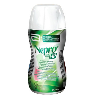 Abbott Linea Nutrizione Domiciliare Nepro HP Prebiotici 220 ml Gusto Fragola
