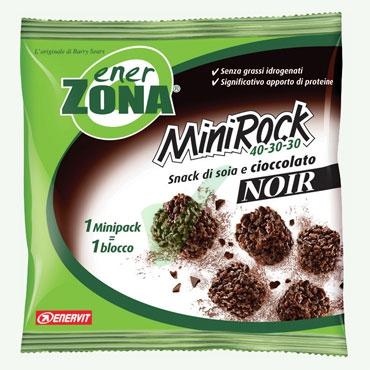 EnerZona Linea Alimentazione Dieta a ZONA Minirock Cioccolato Fondente 40-30-30