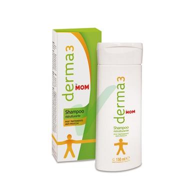 Mom Linea Derma3 Shampoo Ristrutturante Anti-Pediculosi Lunga Durata 100 ml