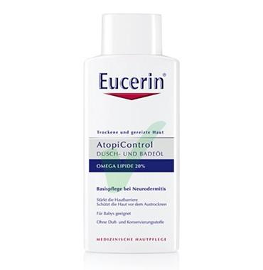 Eucerin Linea AtopiControl Olio Detergente Doccia Lenitivo Pelli Atopiche 400 ml