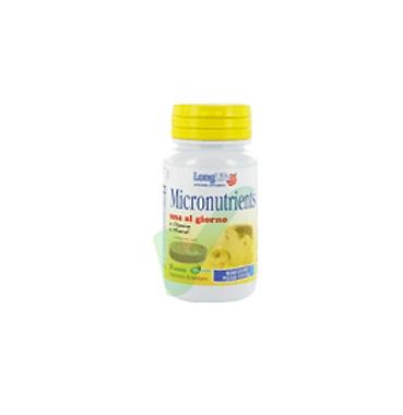 Long Life Linea Vitamine Minerali Micronutrients Integratore 30 Tavolette