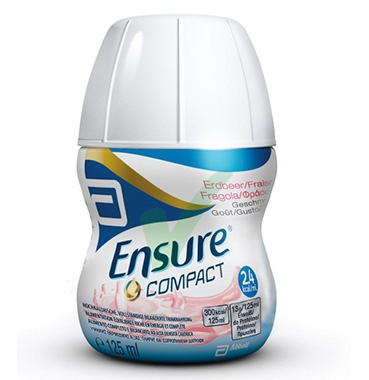 Abbott Linea Nutrizione Domiciliare Ensure Compact 4x125 ml Gusto Fragola