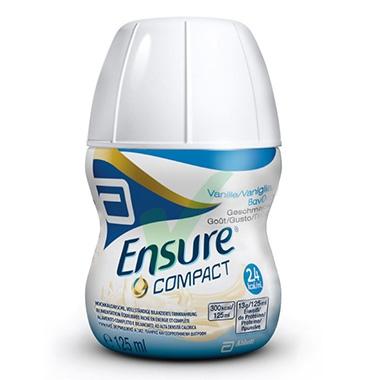 Abbott Linea Nutrizione Domiciliare Ensure Compact 4x125 ml Gusto Vaniglia