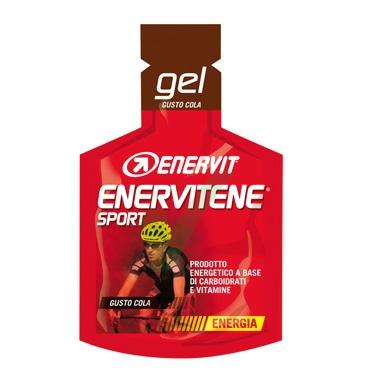 Enervit Sport Linea Energia Enervitene 1 Gel Pack 25 ml Gusto Cola
