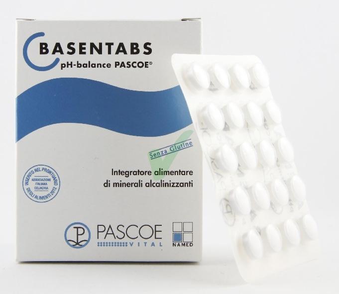 Named Pascoe Linea Alcalinizzanti Basentabs Integratore Alimentare 200 Compresse