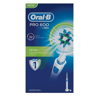 Oral-B Linea Igiene Dentale Quotidiana PC 600 CrossAction Spazzolino Elettrico