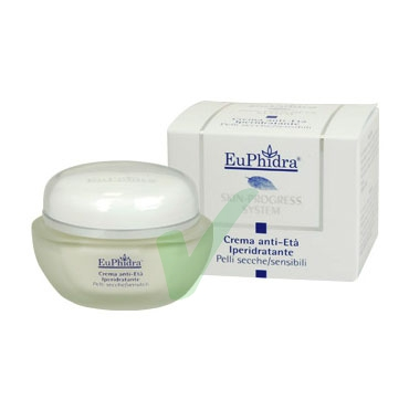 EuPhidra Linea Skin-Progress System Crema Anti-Età Iperidratante 40 ml