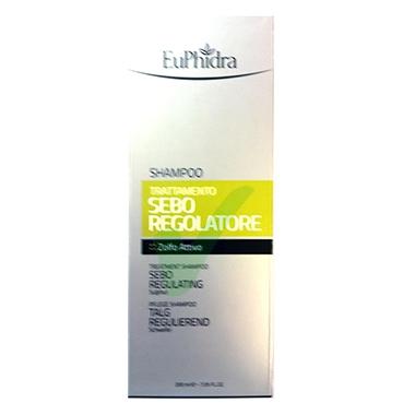 EuPhidra Linea Capelli Sebo Regolatore Shampoo Trattamento Riequilibrante 200 ml