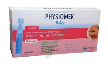 Physiomer Linea Pulizia e Salute del Naso Soluzione Bambini 40 Fiale da 5 ml