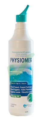 Physiomer Linea Pulizia e Salute del Naso Soluzione Spray Getto Forte 210 ml