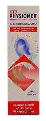 Physiomer Linea Pulizia e Salute dell'Orecchio Soluzione Spray Oto 115 ml