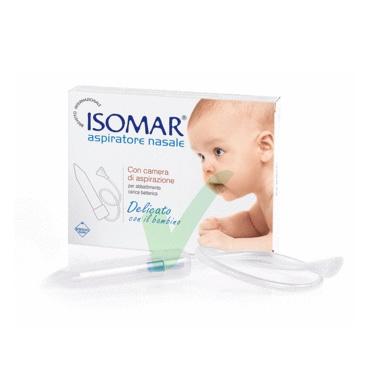 Isomar Linea Pulizia e Salute del Naso Aspiratore Nasale Bambini con 3 Ricambi