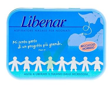 Libenar Linea Pulizia e Salute del Naso Aspiratore Nasale Bambini con 3 Ricambi