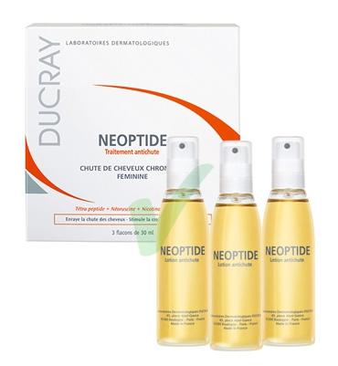 Ducray Linea Fortificante Neoptide Trattamento Anticaduta Capelli 3 Fiale 30 ml