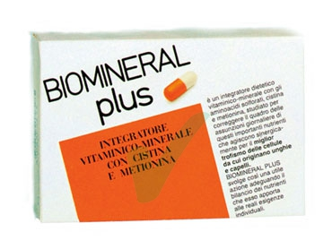 Biomineral Linea Unghie e Capelli Plus Integratore Alimentare 60 Capsule