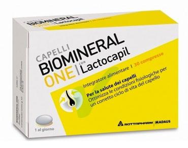 Biomineral Linea Hair Terapy One con Lactopil Plus Capelli Deboli 30 Compresse