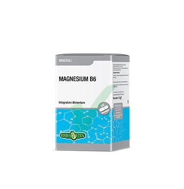 Erba Vita Linea Vitamine Minerali Magnesium B6 Integratore Alimentare 60 Capsule