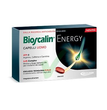 Bioscalin Linea Capelli Uomo Energy R-Plus Anticaduta Integratore 30 Compresse