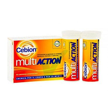 Cebion Linea Benessere Energia Multiaction Integratore 20 Compresse Effervescent