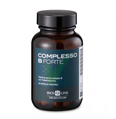 Bios Line Linea Vitamine Principium Complex B Forte Integratore 60 Capsule