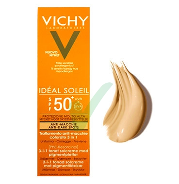 Vichy Linea Ideal Soleil SPF50+ Crema Colorata Anti-Macchie 3 in 1 50 ml