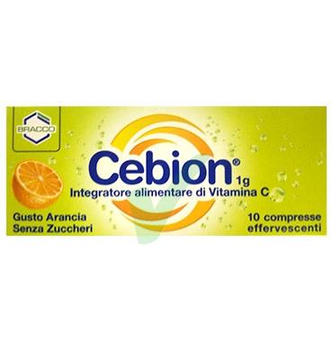 Cebion Linea Difese Immunitarie Vitamina C 10 Compresse Efferv Senza Zucchero