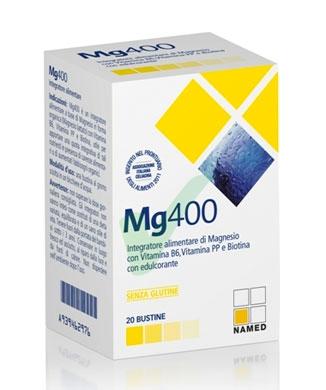 Named Linea Vitamine e Minerali Mg400 Integratore Alimentare 20 Bustine