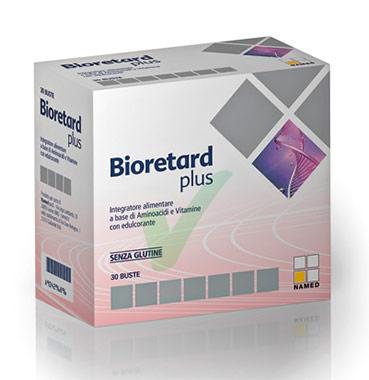 Named Linea Vitamine Aminoacidi Bioretard Plus Integratore Alimentare 30 Buste