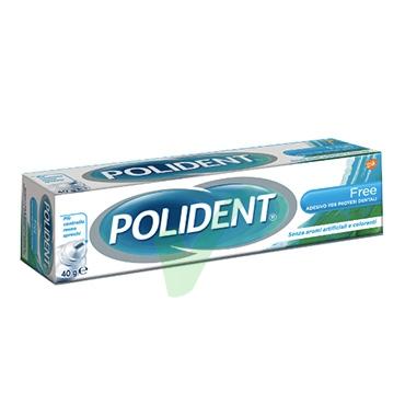 Polident Linea Protesi Dentali Free Crema Adesiva Protettiva senza Zinco 40 g