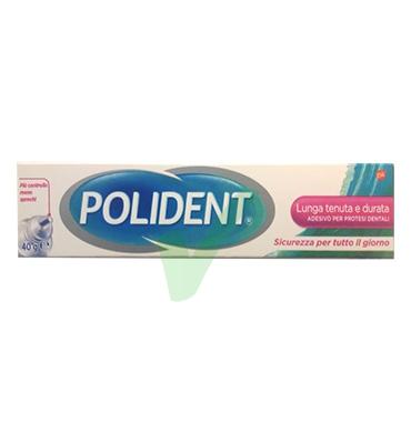 Polident Linea Protesi Dentali Imbattibile Lunga Tenuta Crema Adesiva 40 g
