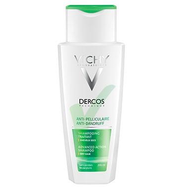 Dercos Linea Equilibrante Shampoo Anti-Forfora Trattante Capelli Secchi 200 ml